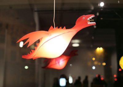 Kreuzberg leuchtet Ausstellung / Drache
