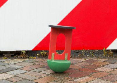 Kreuzberg hockt / Kippel-Sitz