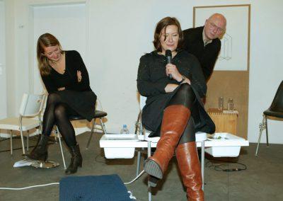 freitagsforum / Annette Geiger, Kora Kimpel und Bernard Stein