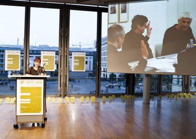 bf-preis 2012 / Prof. Anna Berkenbusch, member of the jury