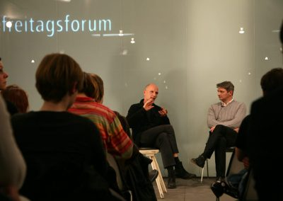 freitagsforum / product designer Axel Kufus and fashion designer Dirk Schönberger
