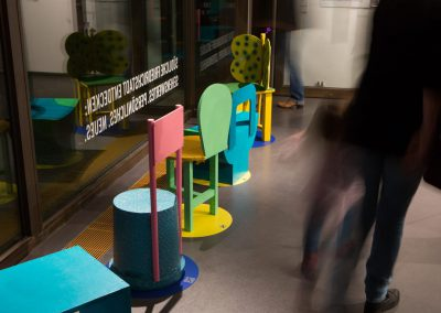 Kreuzberg hockt / objects designed by children