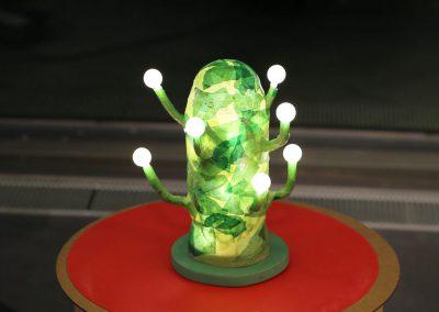 Kreuzberg leuchtet / Kaktus-Leuchte