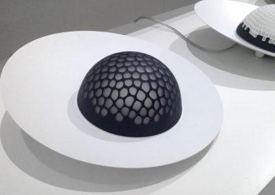 Oblò Leuchte / Diffusor aus Murano-Glas