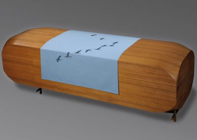 covers for coffins / birds