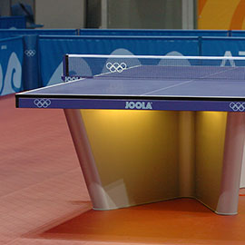 Showcourt table Olympic Games