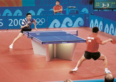 Tischtennis Tisch / Olympiade Athen 2014 Turnier