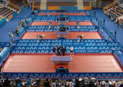 Tischtennis Tisch / Olympiade Athen 2014