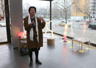 Kreuzberg leuchtet Dialog / Sigrid Klebba, Staatssekretärin für Jugend und Familie