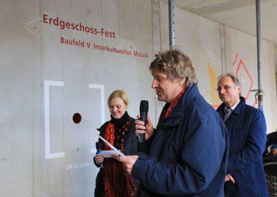 EG-Fest / Redner und Bauherrin