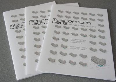 Metropolenhaus Exposee / Cover