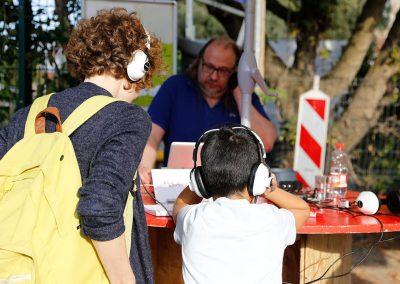 Interkulturelles Musaik / mit dem Künstler und Musiker Martin Dörbaum