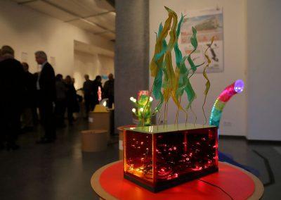 Kreuzberg leuchtet exhibition / Opening