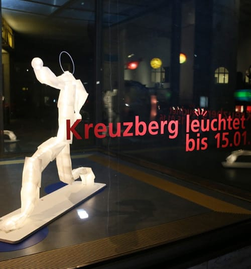Kreuzberg leuchtet Ausstellung