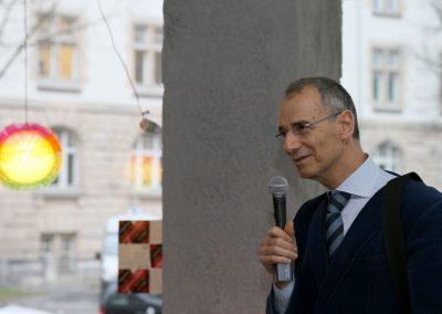Kreuzberg leuchtet Dialog / Prof. Dr. Michael Wolffsohn, Historiker und Publizist